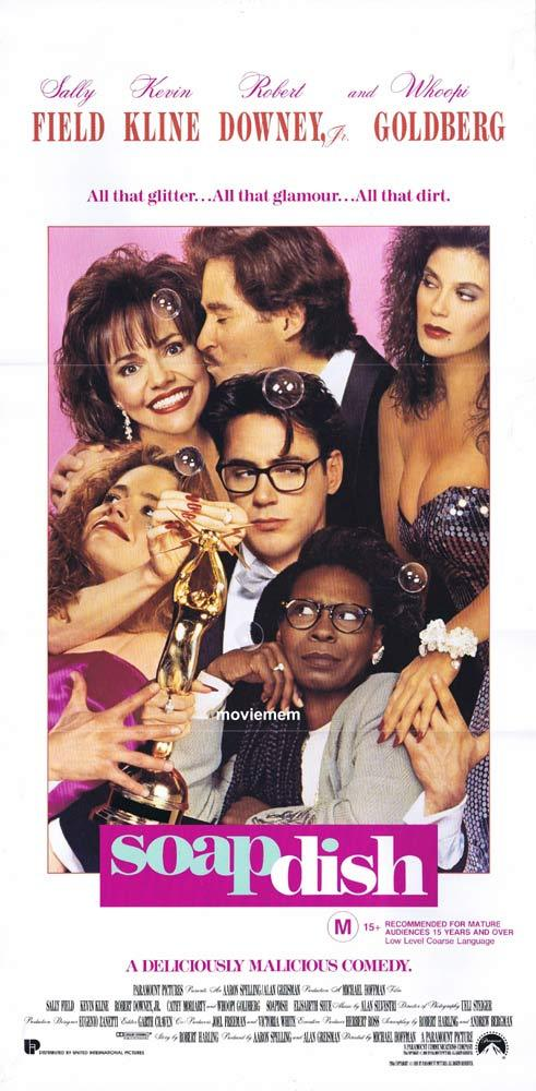 SOAPDISH Original Daybill Movie poster Sally Field Whoopi Godlberg