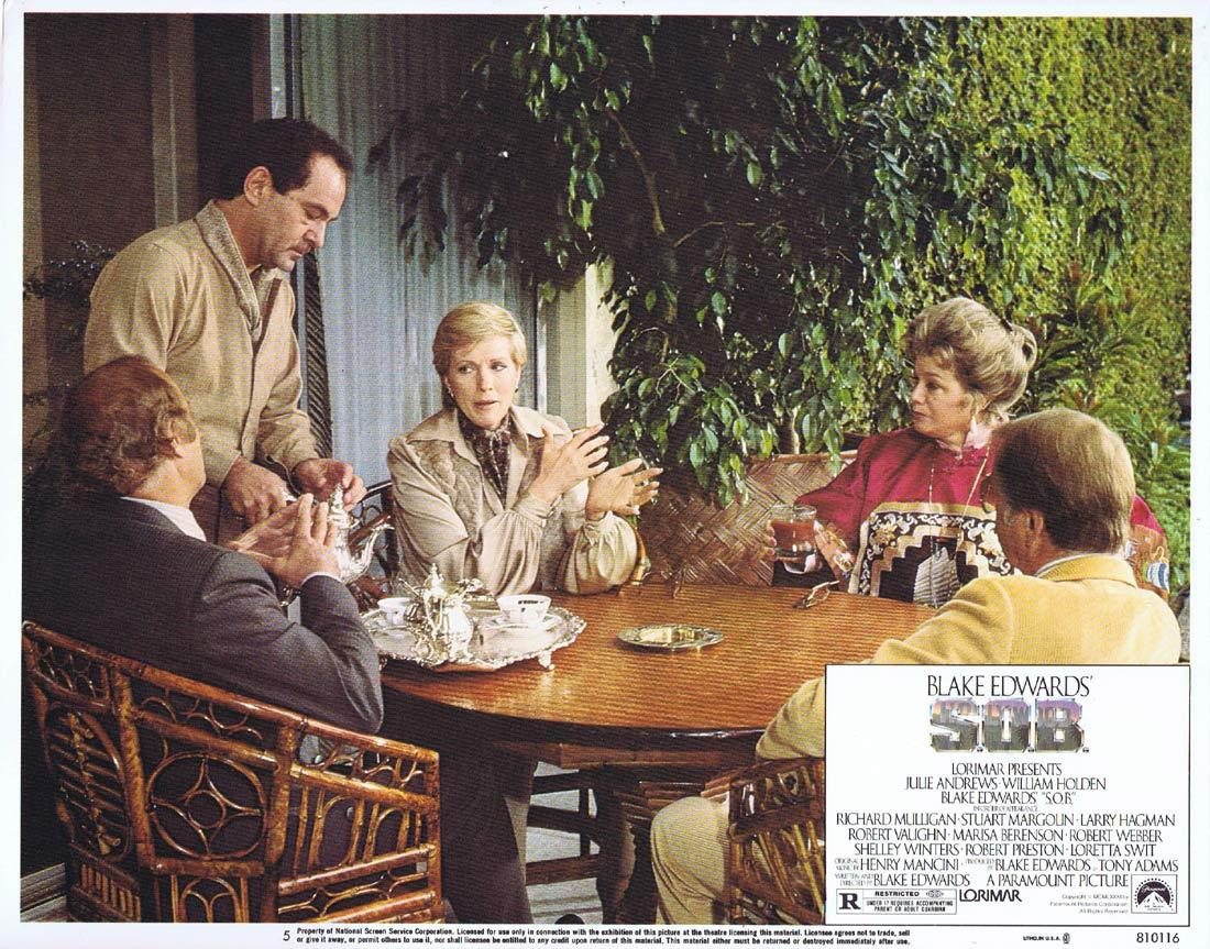 S.O.B Original Lobby Card 5 Julie Andrews William Holden