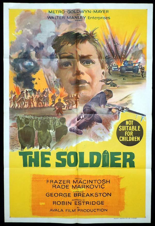 THE SOLDIER aka VOJNIK One Sheet Movie Poster
