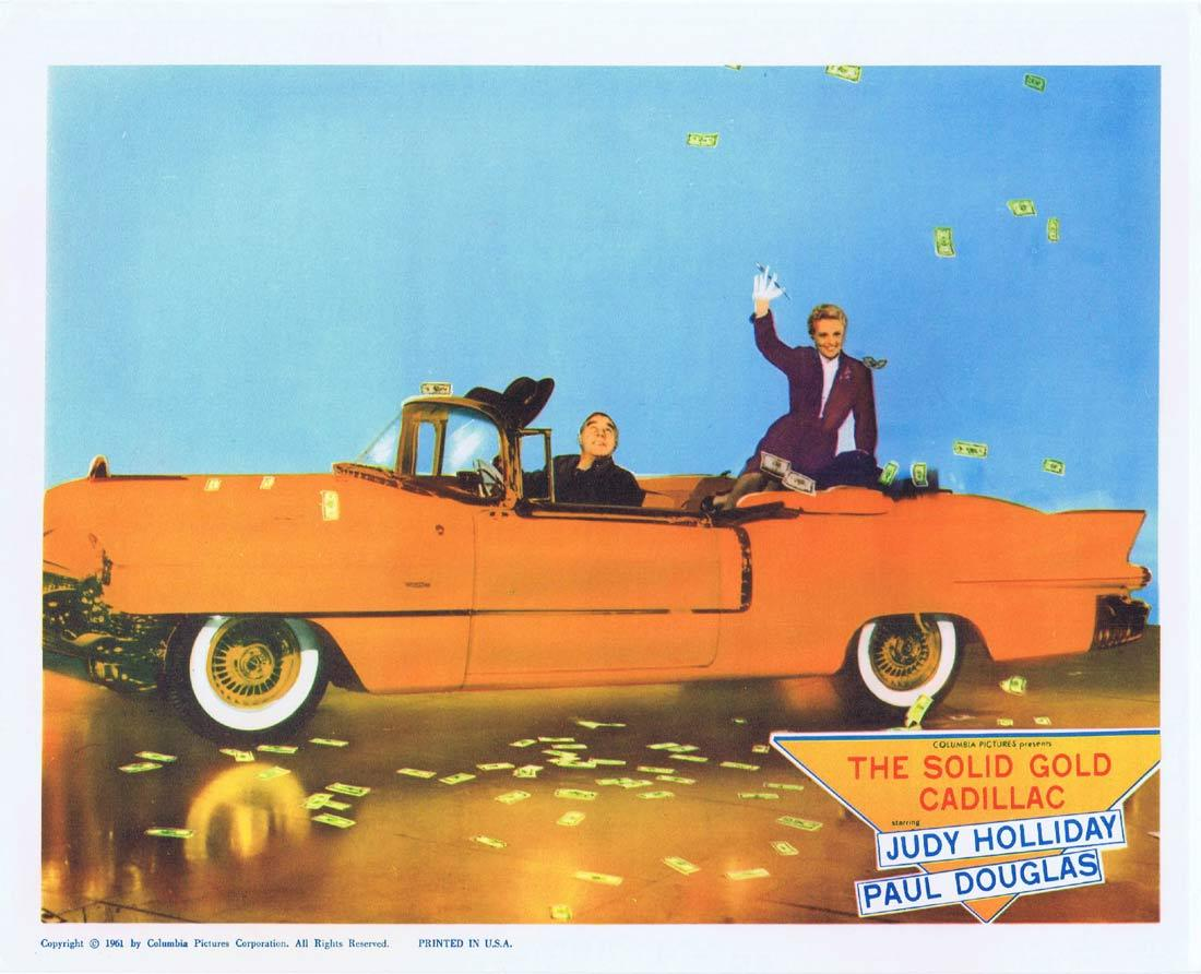 THE SOLID GOLD CADILLAC Lobby Card 2 Judy Holliday