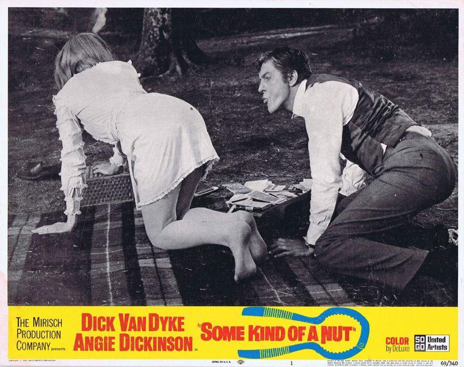 SOME KIND OF A NUT Lobby Card 1 Dick Van Dyke Angie Dickinson Rosemary Forsyth