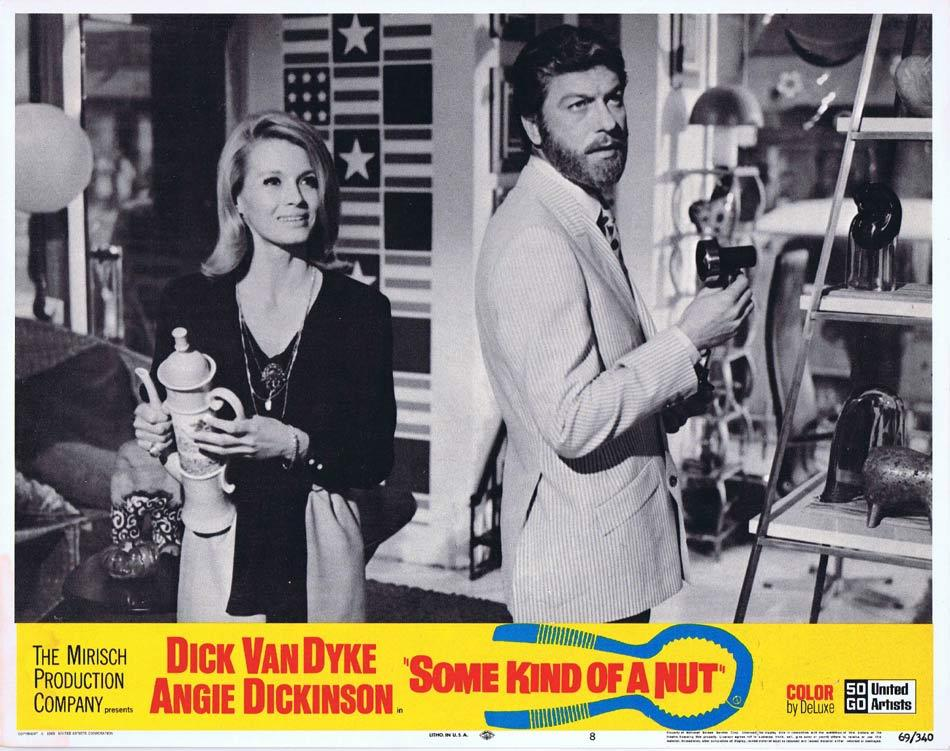 SOME KIND OF A NUT Lobby Card 8 Dick Van Dyke Angie Dickinson Rosemary Forsyth