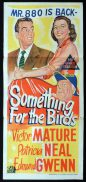 SOMETHING FOR THE BIRDS Original Daybill Movie Poster Victor Mature Patricia Neal