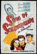 SONG OF SCHEHERAZADE Original One sheet Movie Poster Yvonne De Carlo Jean-Pierre Aumont
