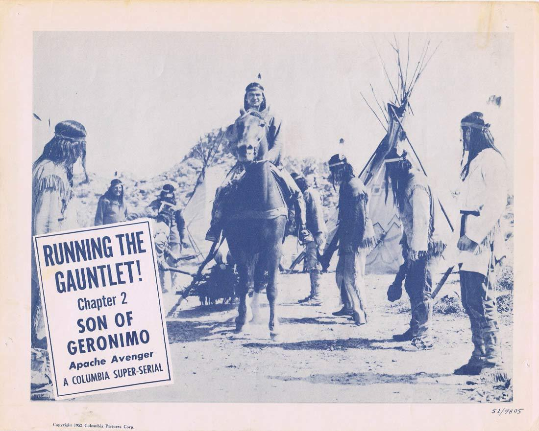 SON OF GERONIMO Original Lobby card 4 Chapter 2 Columbia Serial