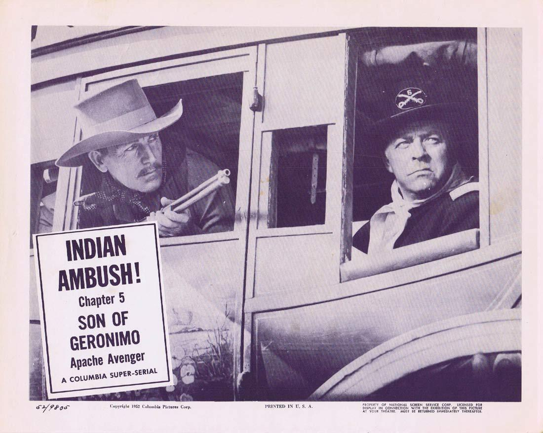 SON OF GERONIMO Original Lobby card 3 Chapter 5 Columbia Serial