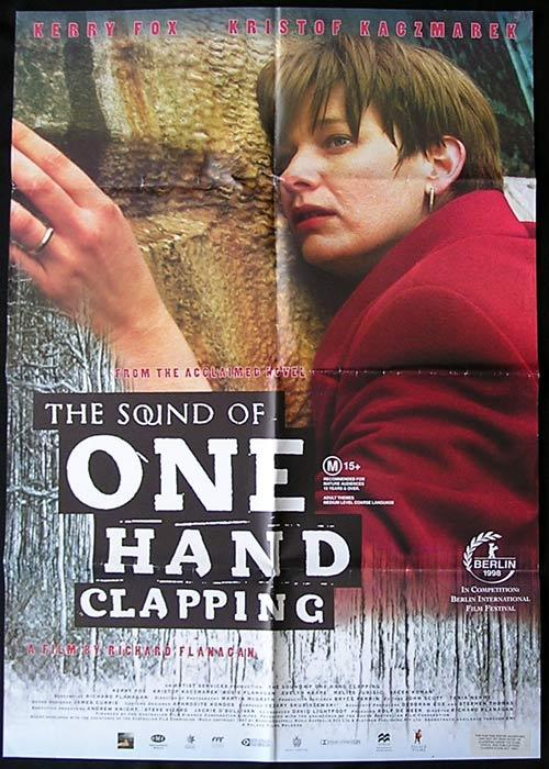 SOUND OF ONE HAND CLAPPING '98 Richard Flanagan 1 sheet poster
