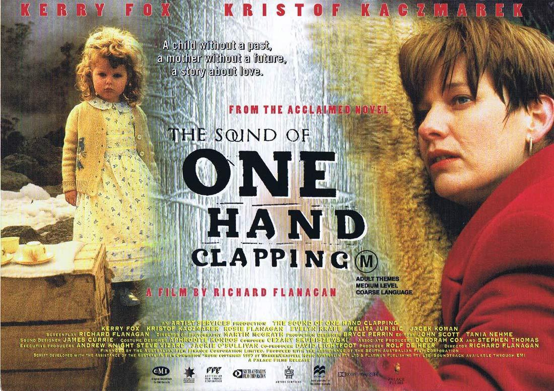 THE SOUND OF ONE HAND CLAPPING Original Movie Herald Richard Flanagan