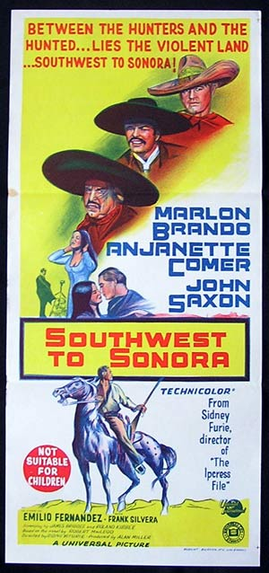 THE APPLALOOSA - SOUTHWEST TO SONORA '66-Brando poster