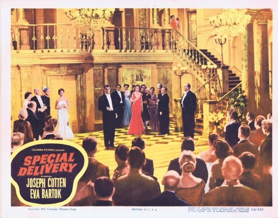 SPECIAL DELIVERY Lobby Card 7 1955 Joesph Cotton Eva Bartok