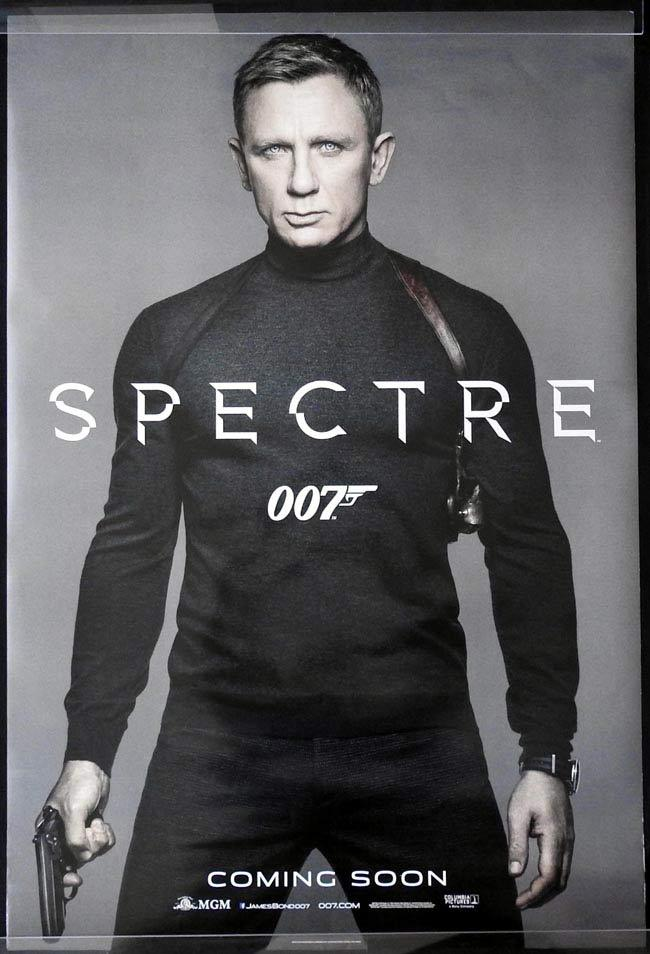 SPECTRE Australian One sheet movie poster B Daniel Craig James Bond