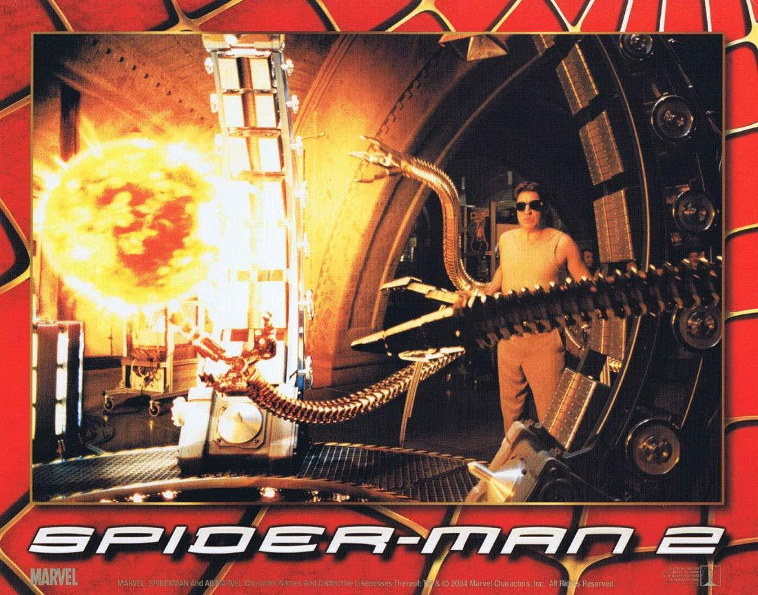 SPIDER-MAN 2 Lobby Card 6 Tobey Maguire Spiderman
