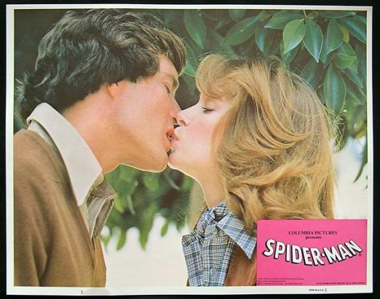THE AMAZING SPIDER MAN 1977 Rare original Lobby Card 3