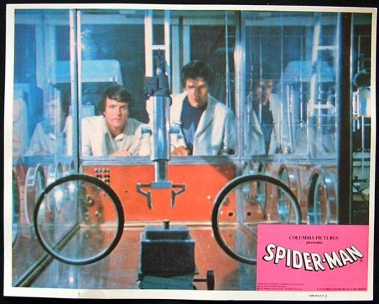 THE AMAZING SPIDER MAN 1977 Rare original Lobby Card 7
