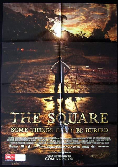 THE SQUARE Movie Poster 2008 Joel Edgerton Australian one sheet