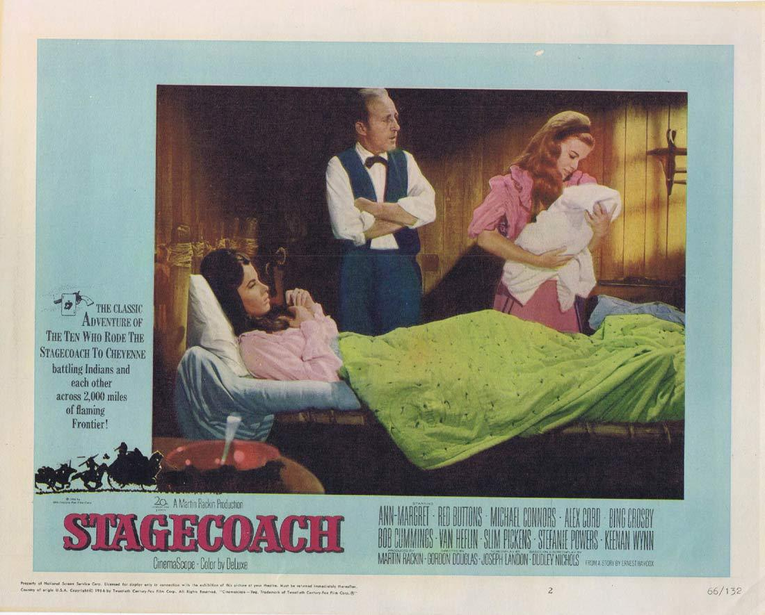 STAGECOACH Lobby Card 2 Ann-Margret Red Buttons