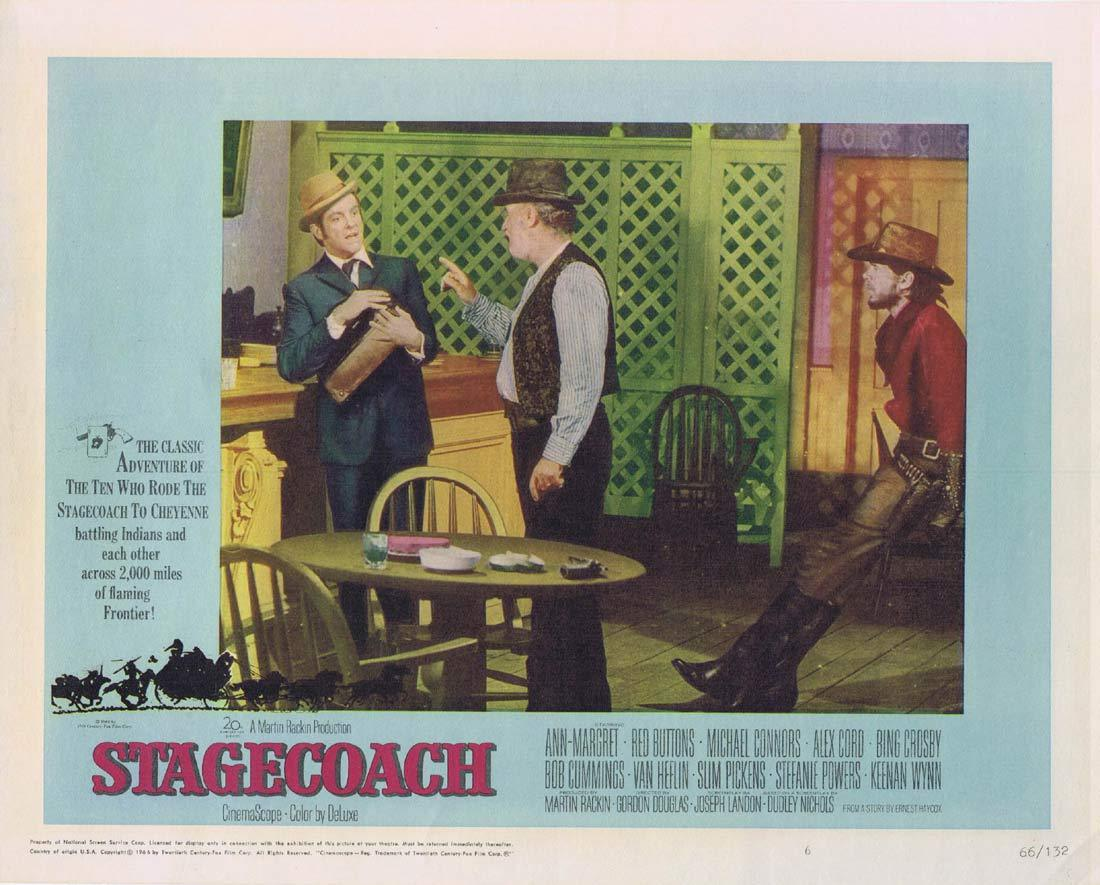 STAGECOACH Lobby Card 6 Ann-Margret Red Buttons