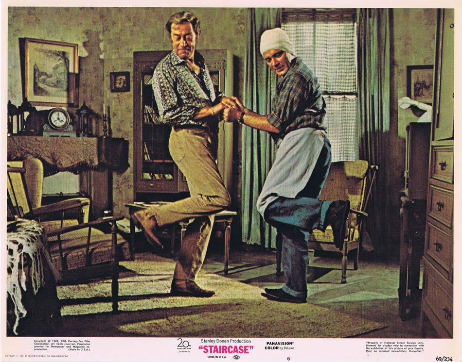 STAIRCASE Lobby Card 6 Rex Harrison Richard Burton