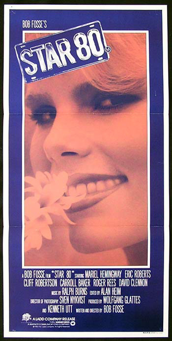 STAR '80 Original Daybill Movie Poster Mariel Hemingway