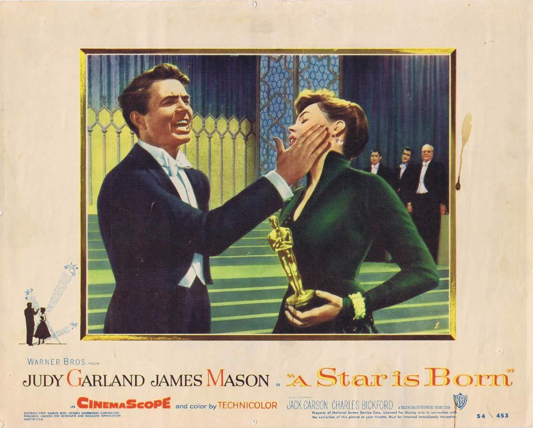 A STAR IS BORN Lobby Card 1 Judy Garland James Mason Jack Carson