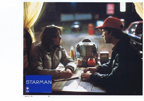 STARMAN 1984 Lobby Card 4 John Carpenter Jeff Bridges