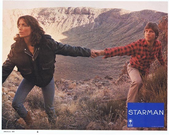 STARMAN 1984 Lobby Card 6 John Carpenter Jeff Bridges
