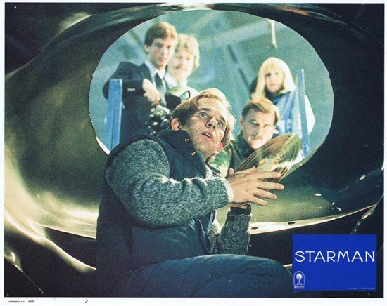 STARMAN 1984 Lobby Card 7 John Carpenter Jeff Bridges