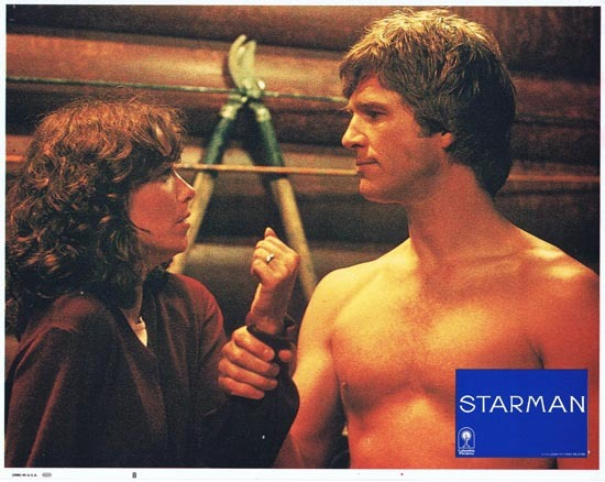 STARMAN 1984 Lobby Card 8 John Carpenter Jeff Bridges
