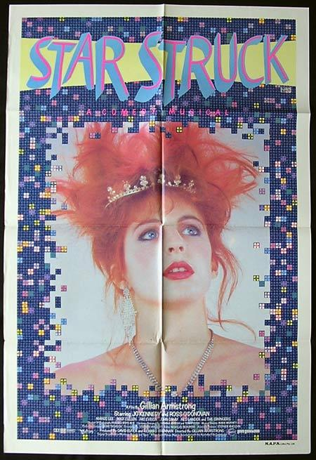 STARSTRUCK Movie Poster 1982 Gillian Armstrong Australian One sheet