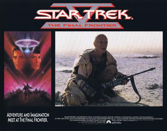 STAR TREK V THE FINAL FRONTIER Lobby Card 3 Science Fiction