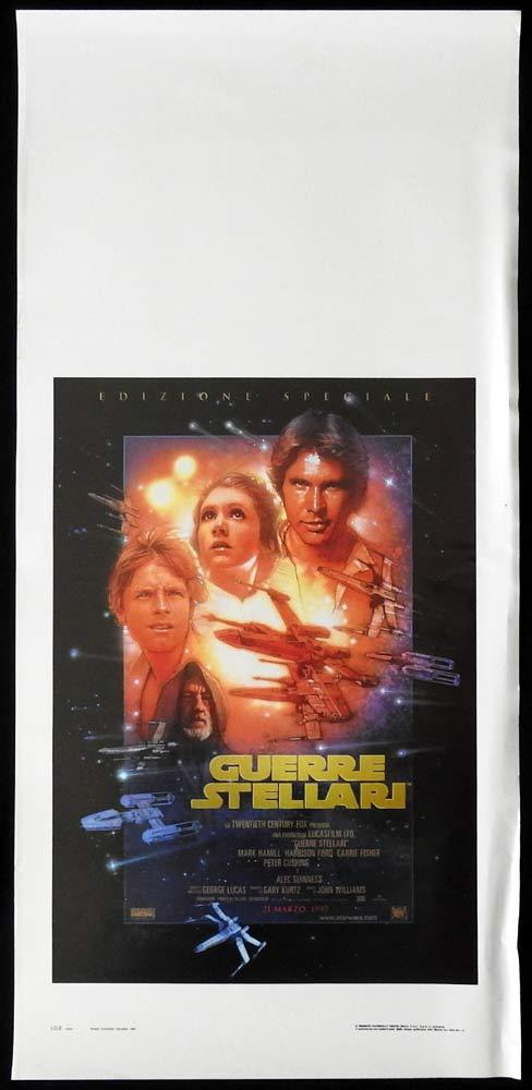 STAR WARS SPECIAL EDITION 1997 Original Locandina Movie Poster