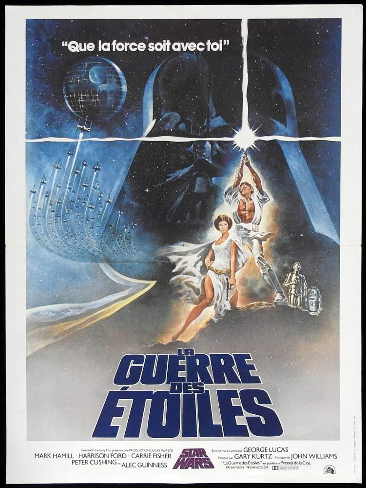 STAR WARS Original FRENCH Movie Poster