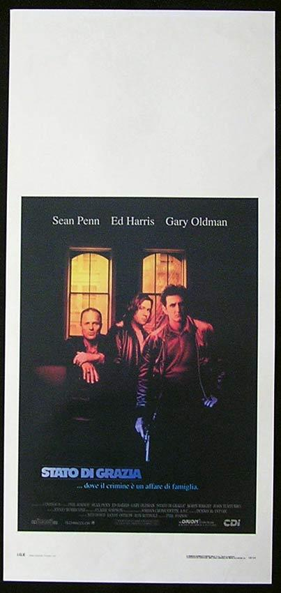 STATE OF GRACE Italian Locandina Movie Poster Sean Penn Gary Oldman