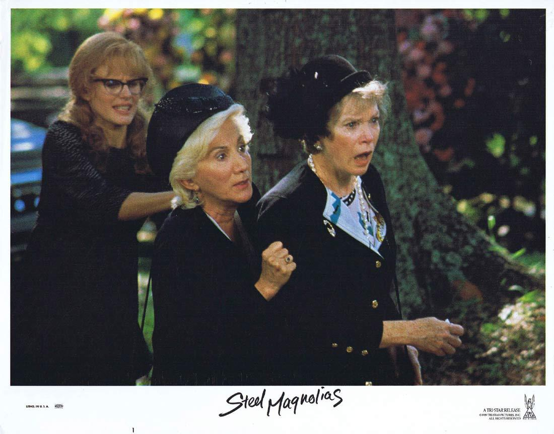 STEEL MAGNOLIAS Original Lobby Card 1 Sally Field Dolly Parton Shirley MacLaine