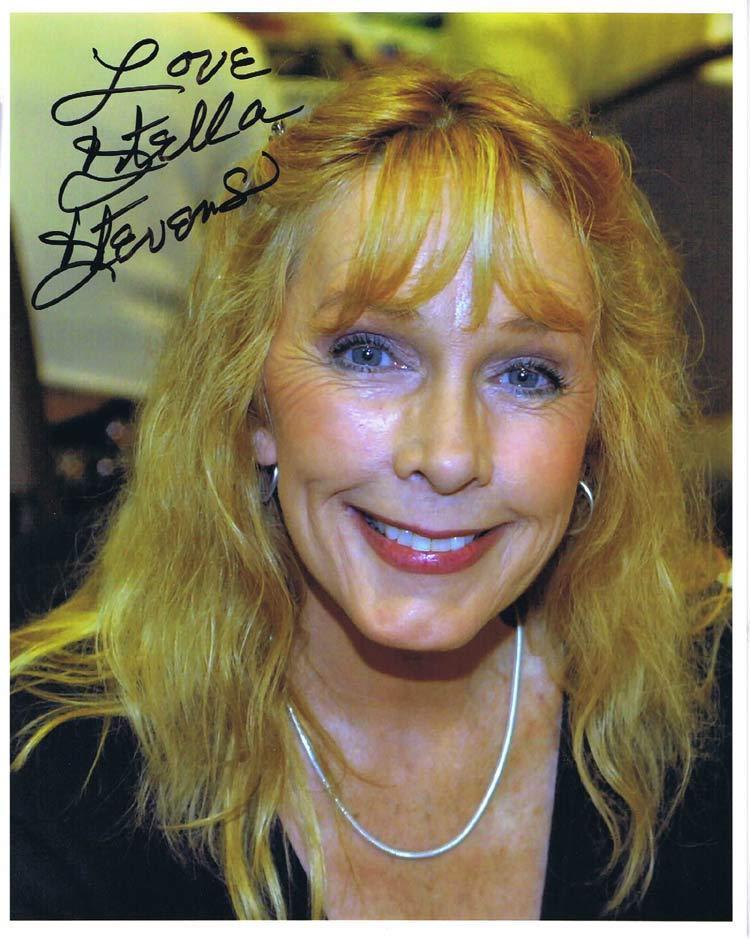 STELLA STEVENS Autograph 8 x 10 Photo