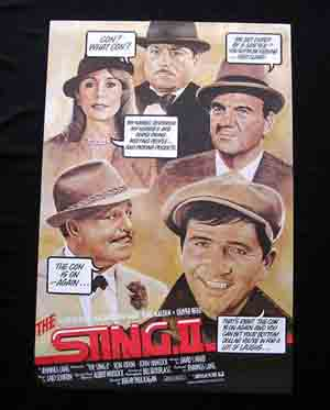 THE STING II-Jackie Gleason RARE STYLE US one sht