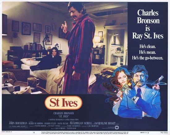 ST IVES 1976 US Lobby card 4 Charles Bronson