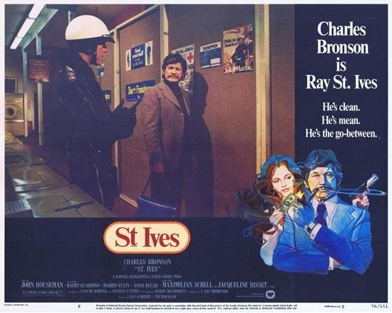ST IVES 1976 US Lobby card 6 Charles Bronson