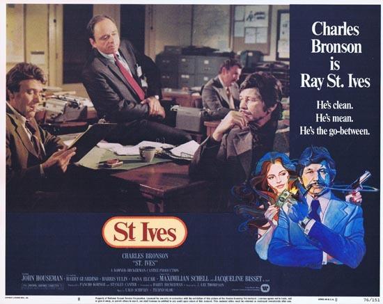 ST IVES 1976 US Lobby card 8 Charles Bronson