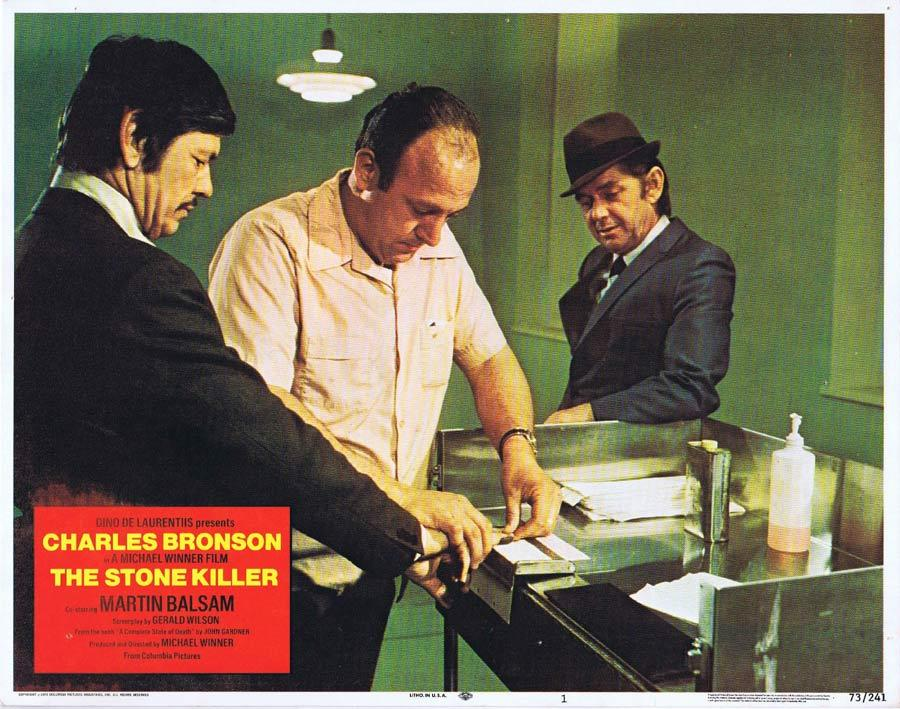 THE STONE KILLER Lobby Card 1 Charles Bronson