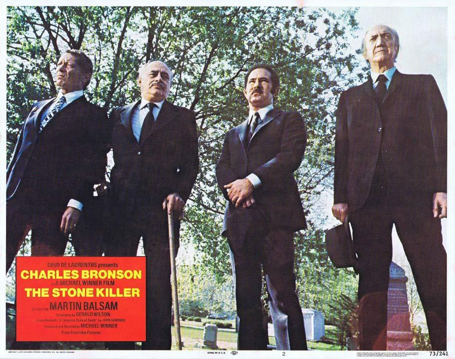 THE STONE KILLER Lobby Card 2 Charles Bronson