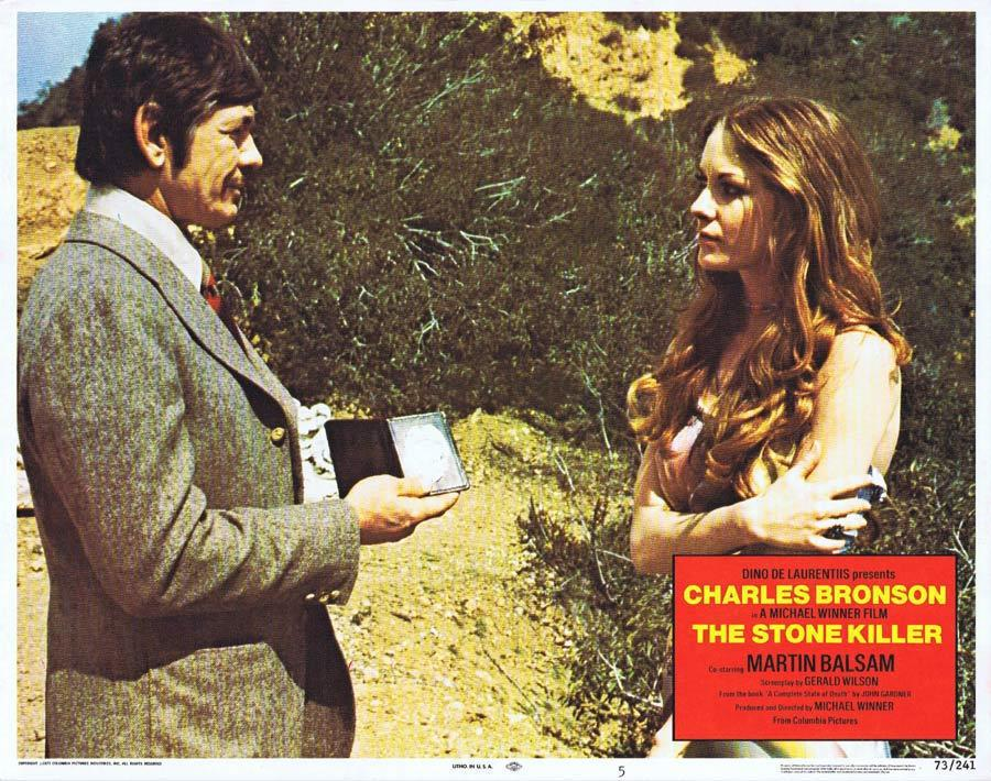 THE STONE KILLER Lobby Card 5 Charles Bronson