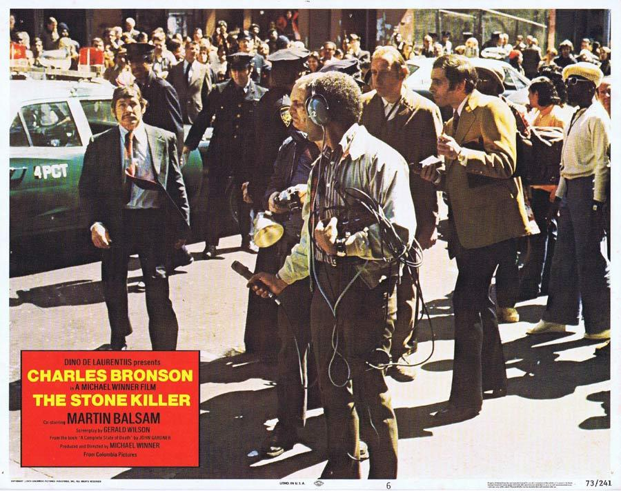 THE STONE KILLER Lobby Card 6 Charles Bronson