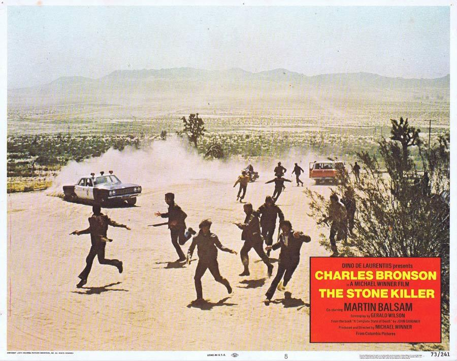 THE STONE KILLER Lobby Card 7 Charles Bronson