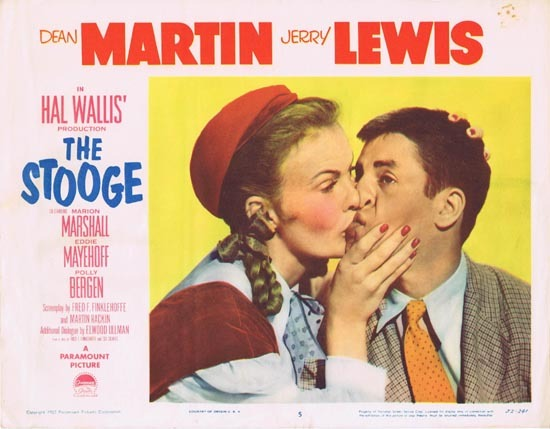 THE STOOGE 1952 US Lobby card 5 Vintage Jerry Lewis