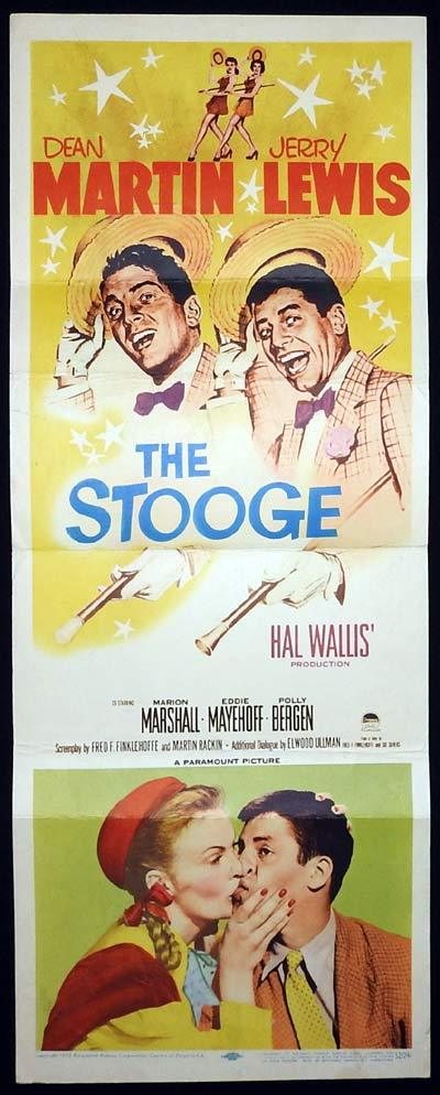 THE STOOGE US Insert Movie Poster Dean Martin Jerry Lewis