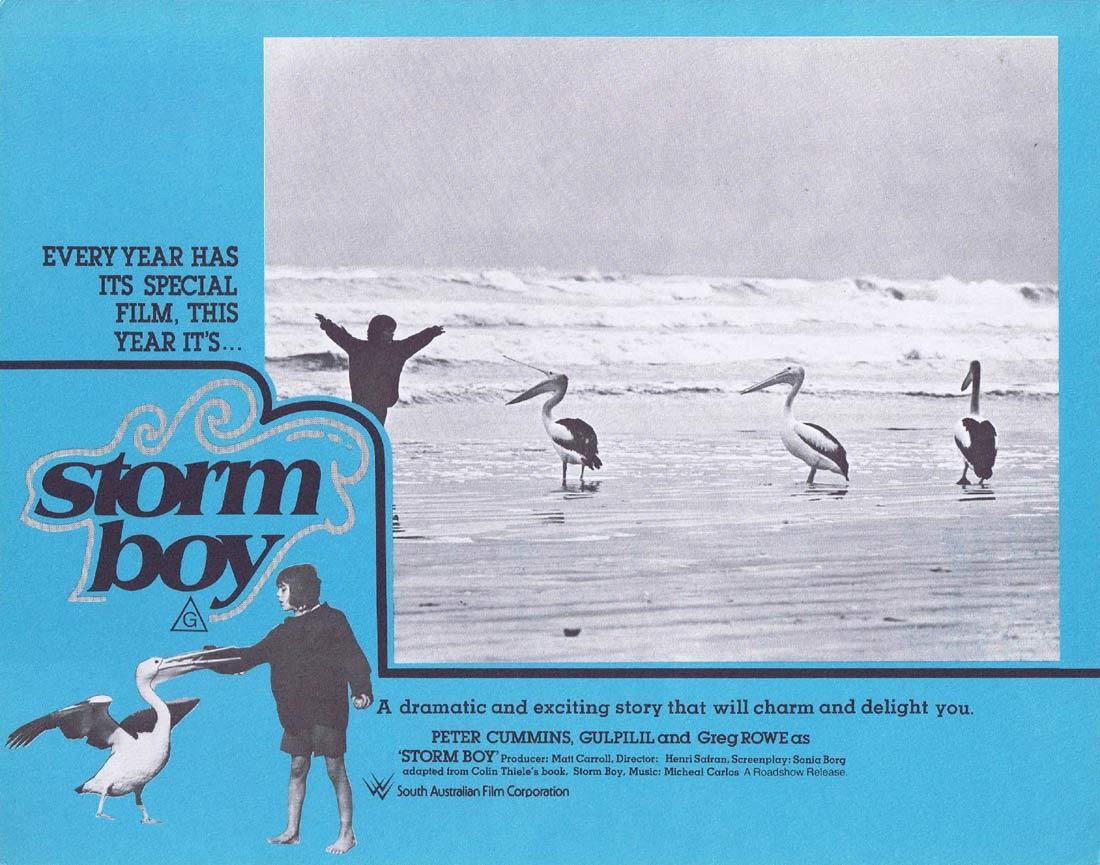 STORM BOY Original Lobby Card 5 Greg Rowe Gulpilil