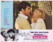 STORY OF A WOMAN Lobby Card 4 Bibi Andersson Robert Stack James Farentino