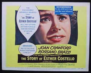 STORY OF ESTHER COSTELLO '57 Joan Crawford Title Lobby Card #8