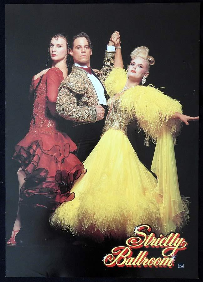 STRICTLY BALLROOM Australian Teaser Mini Daybill Movie poster